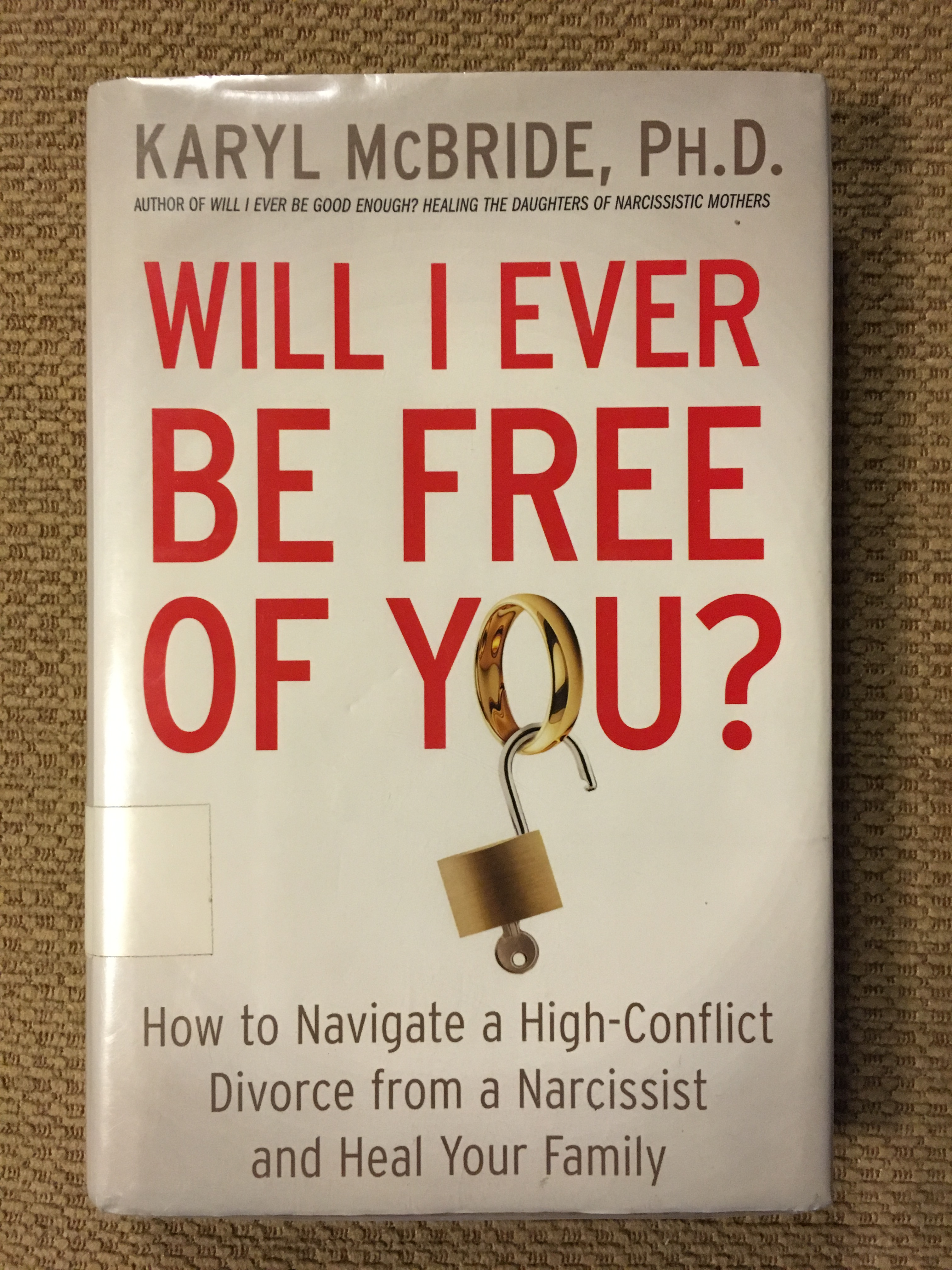 How to divorce a narcissist book